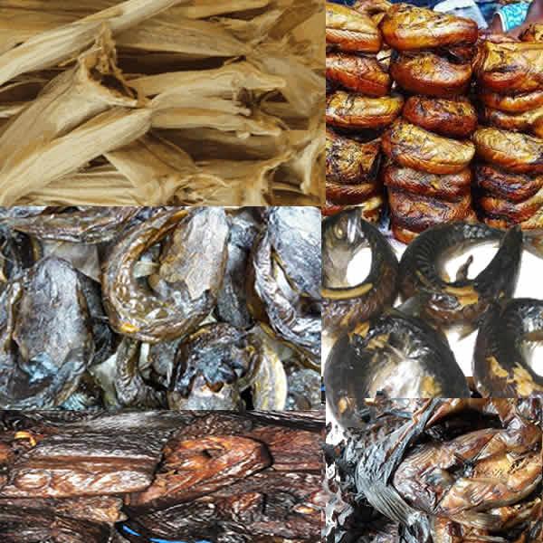 Dried Fish Varieties